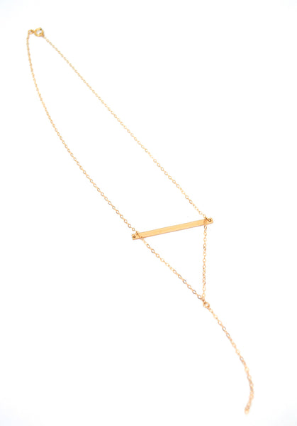 Marley Bar Necklace - Amarilo - 2