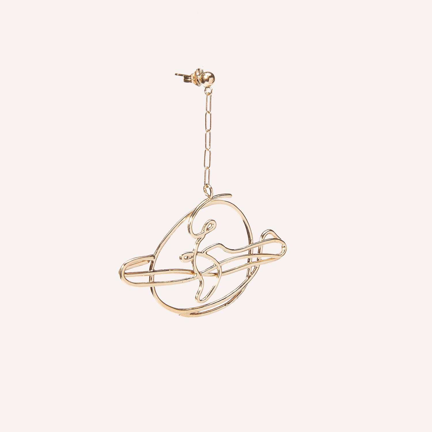 Saturns Return Earring