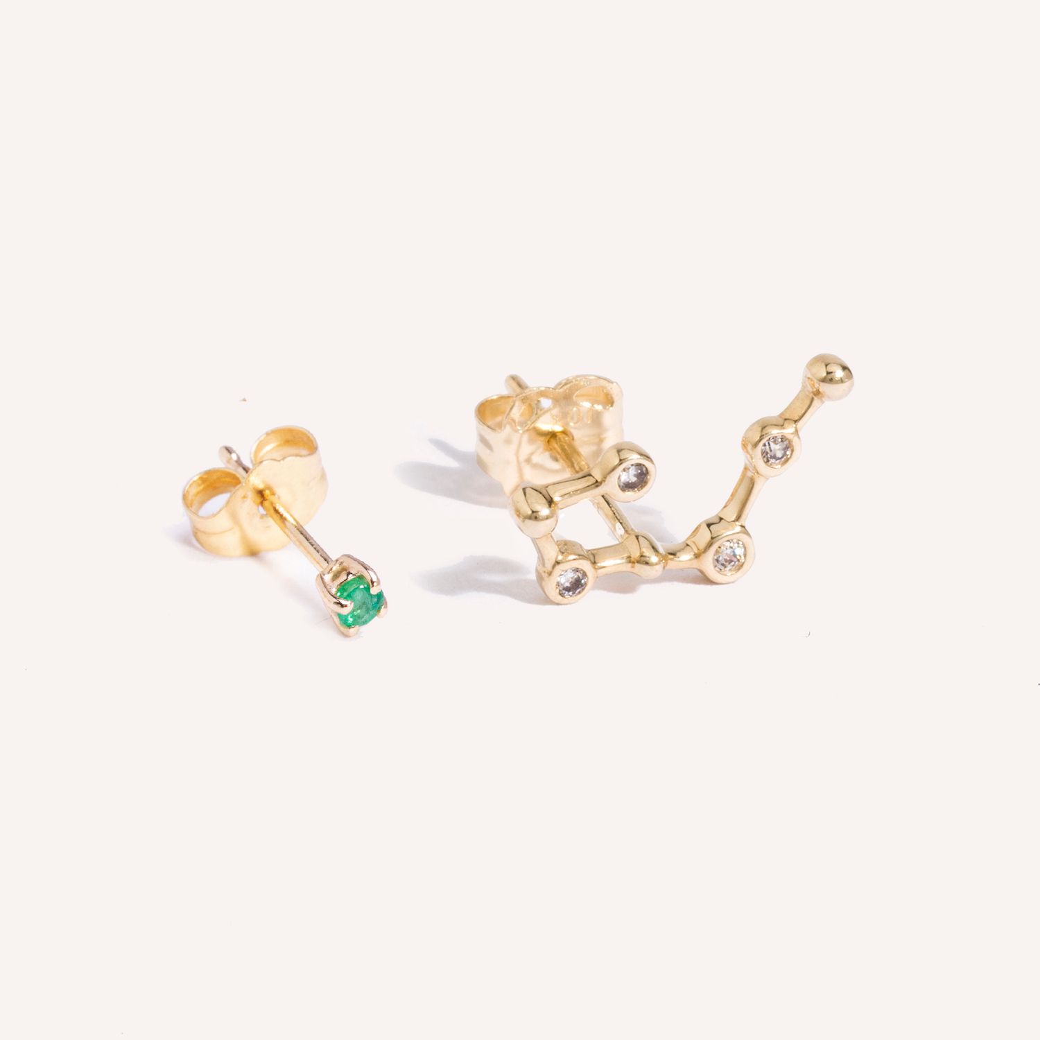 Constellation Birthstone Studs
