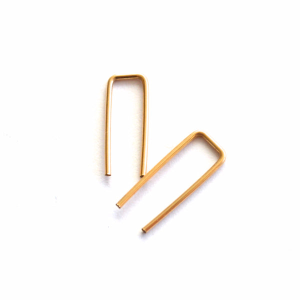 Staple Post Earrings - Amarilo - 1