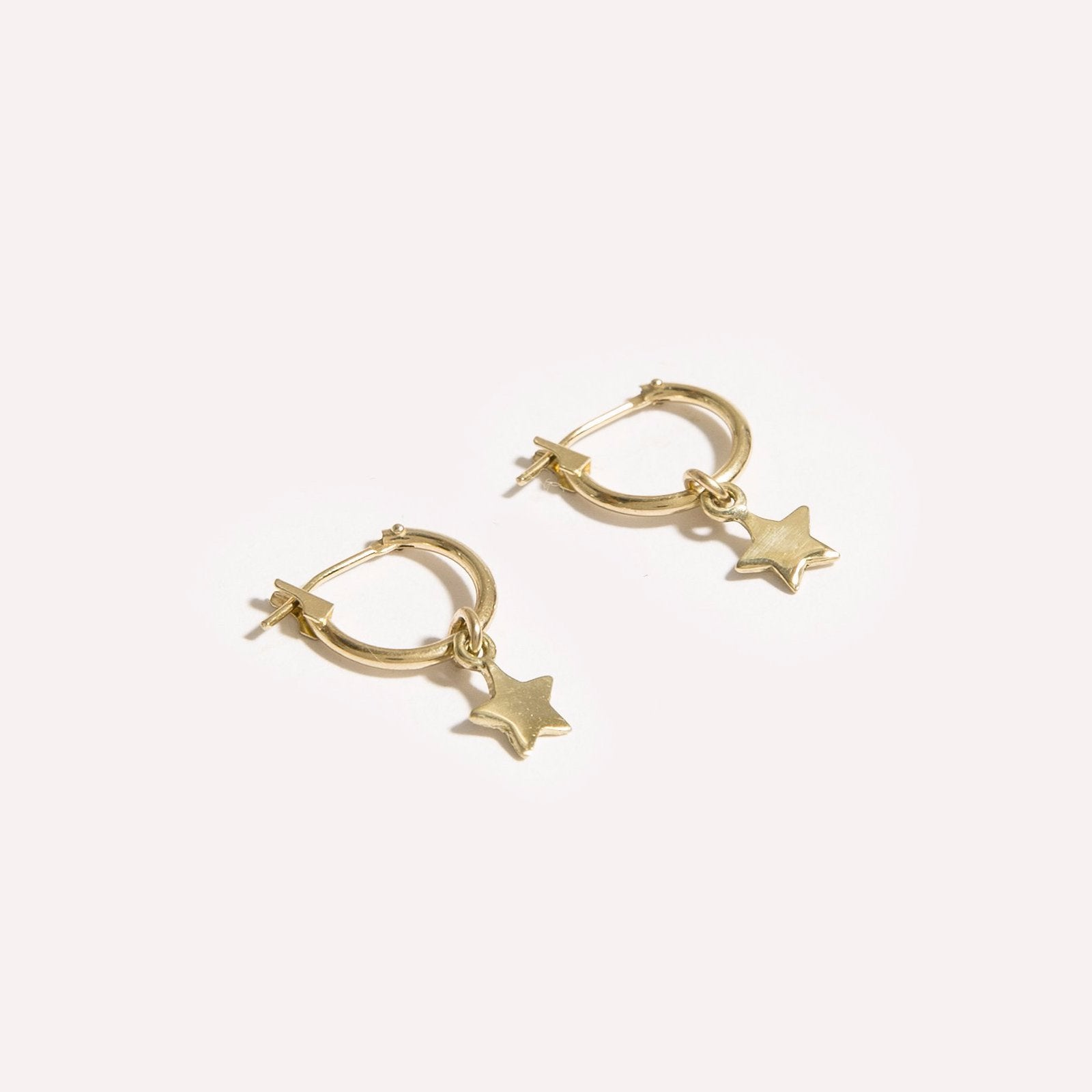 Stars and Opal Earring Set