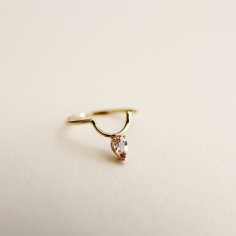 Faye Morganite Ring
