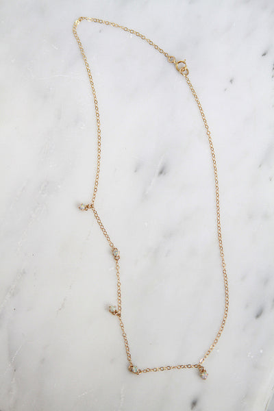 Olivia Opal Necklace - Amarilo - 2