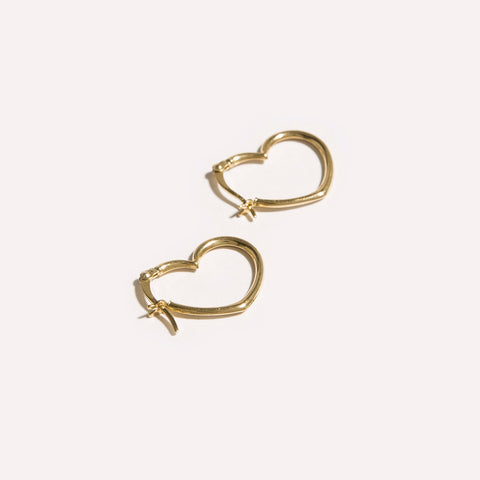 Mini Nora Pearl Hoops