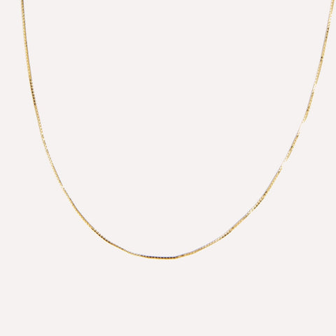 Sideways Diamond Initial Necklace