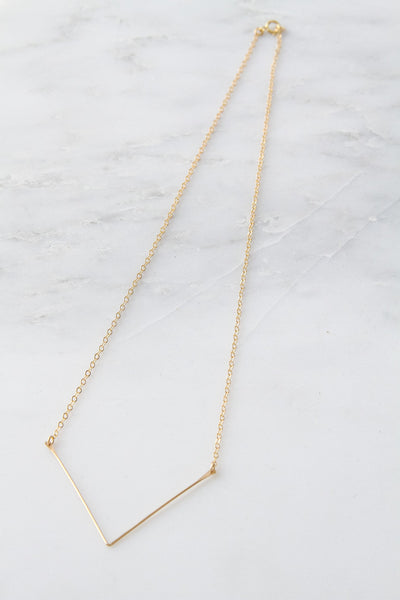 V Necklace - Amarilo - 4