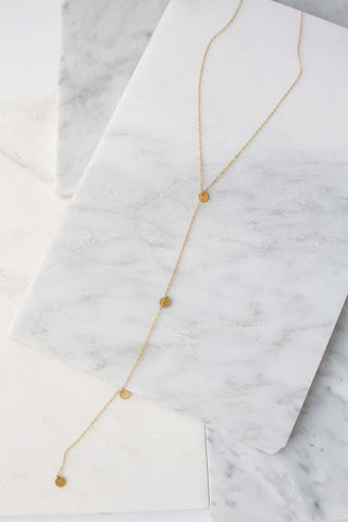 Mina Lariat Necklace