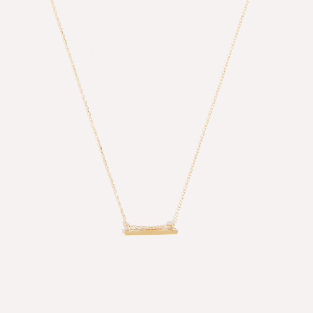 Mini Beam Necklace