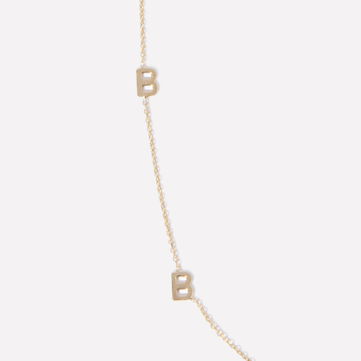 Custom Name Drop Necklace