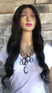 #4 Black Swiss Lace Front