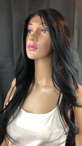 #13 Black 369 Lace Open Parting