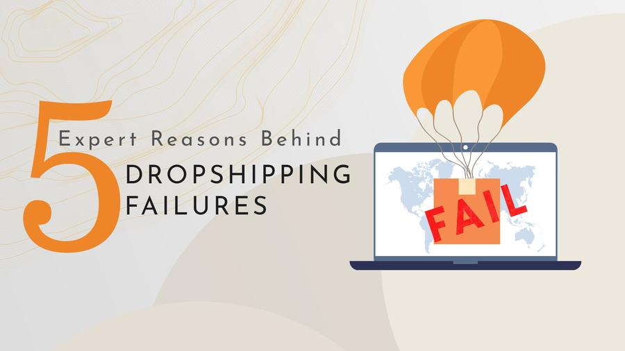 5 Expert Reasons Behind Dropshipping Failures