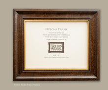 "Load image into Gallery viewer, Item #19-DF02 - 8-1/2"" x 11"" Diploma Frame"