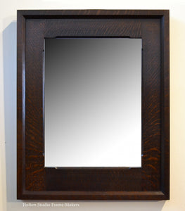 Pair of Chamfered Mirrors - 22-1/2″ x 18″