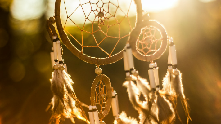 Dreamcatcher courtesy of spark post