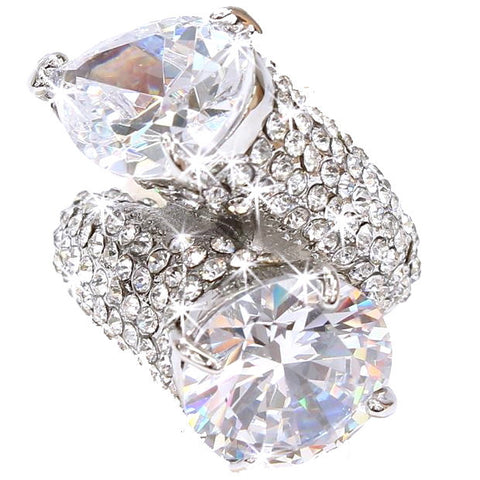 Pure-Glam 20ct Statement Ring