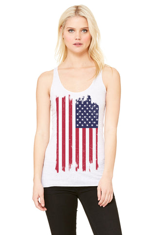 Land of the Free Racer Tank
