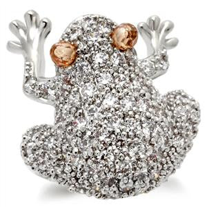 The Froggy CZ Coctail Ring
