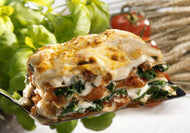 Spinach & Cheese Lasagne (V)