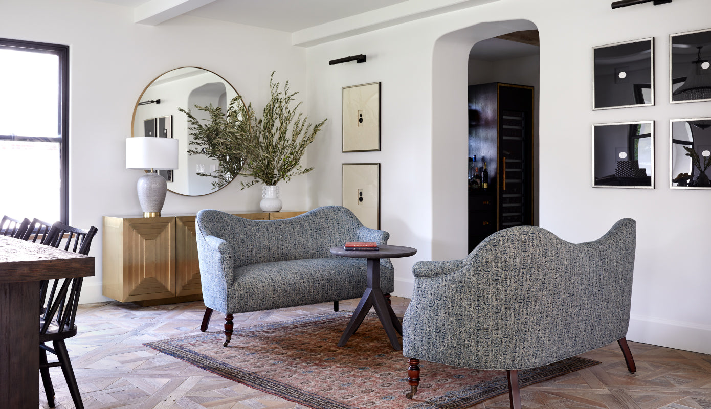 living room styled by JH Interiors