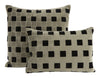 Grid Pillows - Black