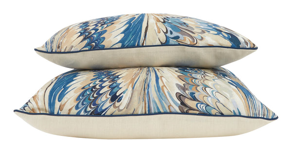 Veneto Navy Pillows