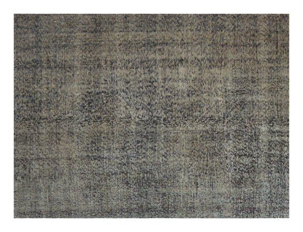 "Vintage Overdyed Rug - 12'5"" x 5'"