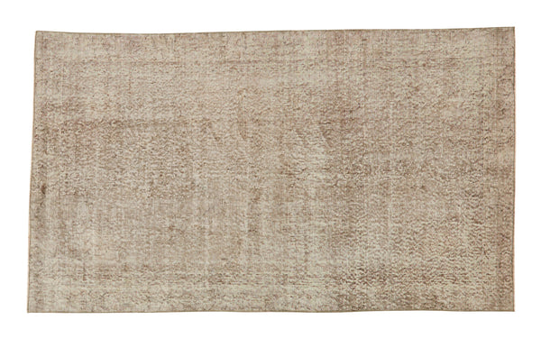 "Vintage Overdyed Rug - 6'4"" x 3'8"""