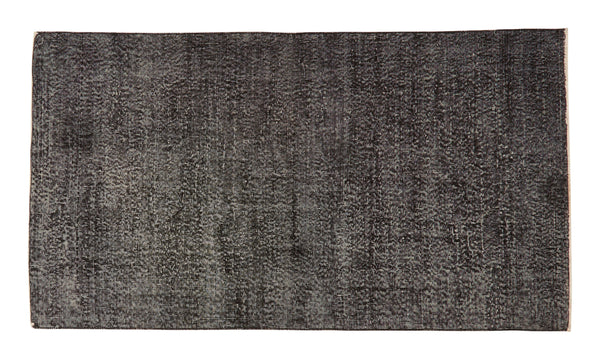 "Vintage Overdyed Rug - 6'8"" x 3'9"""
