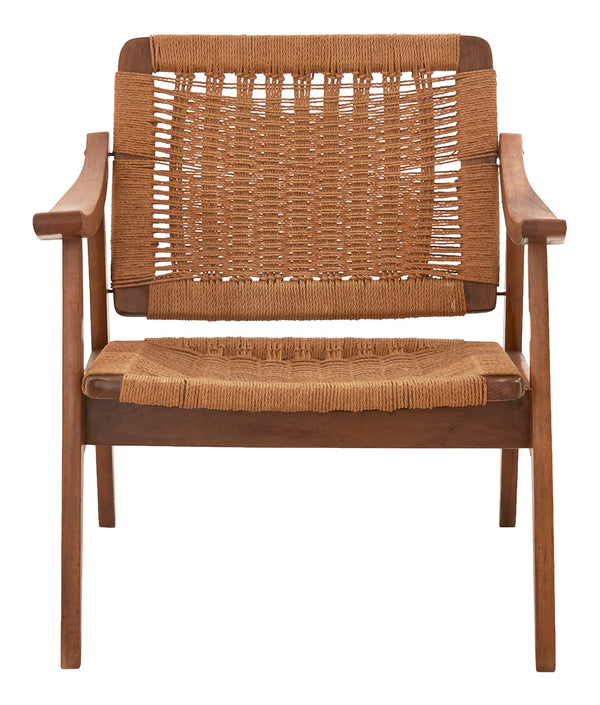Vintage Danish Woven Chair