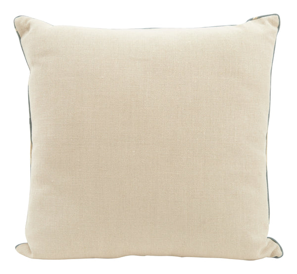 Maze Blue Pillow