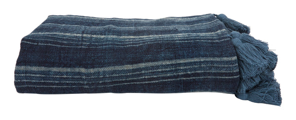 Indigo Mudblock Bedding