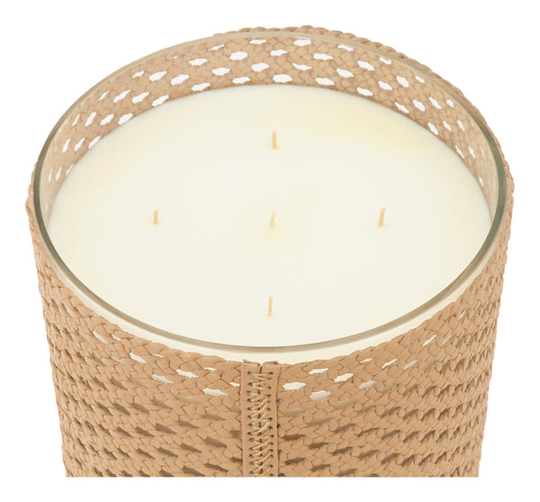 Beige Moroccan Oud Candle