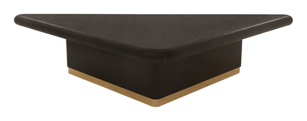 Vintage Black Lacquered Coffee Table