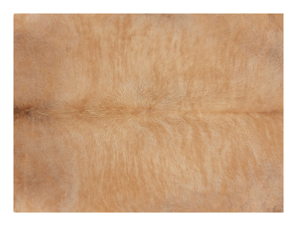 "Natural Cowhide - 6'8"" x 6'1"""
