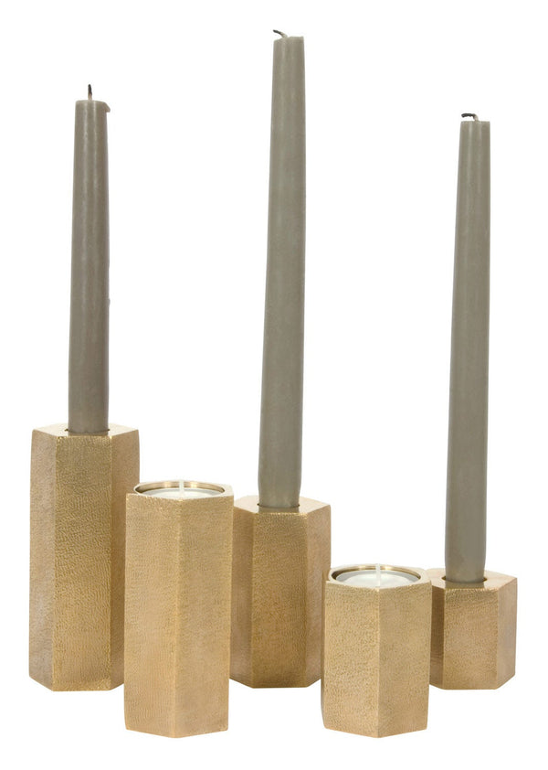 Hex Candle Holders