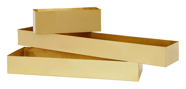 Brass Rectangular Containers