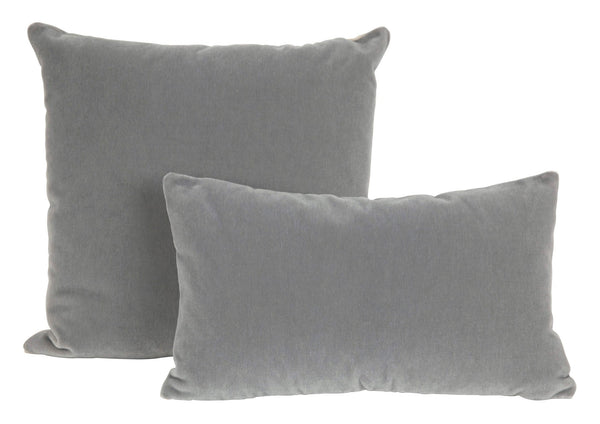 Sterling Mohair Pillows