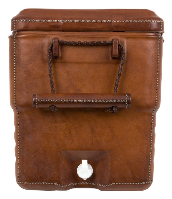 Brown Leather Coolers