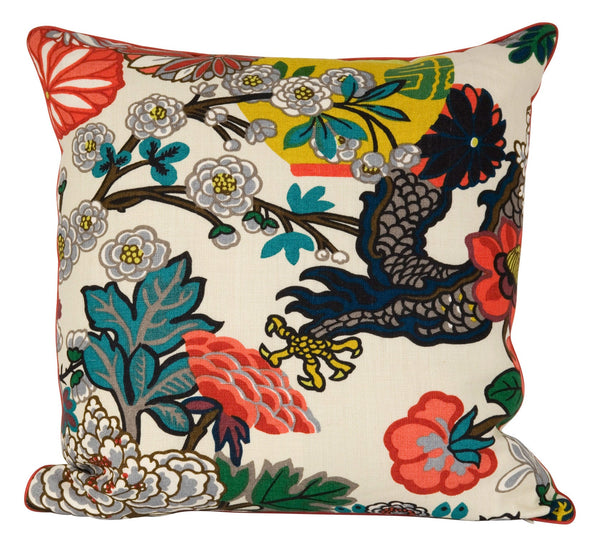 Chinois Pillow - Alabaster