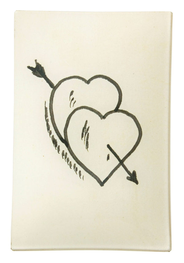 Two of Hearts Tray