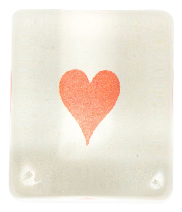 Painted Heart Paperweight