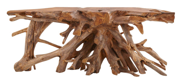 Teak Root Console - Large