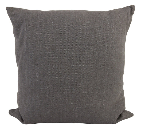 Linen Graphite Pillows