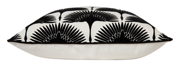 Onyx Bird Pillow