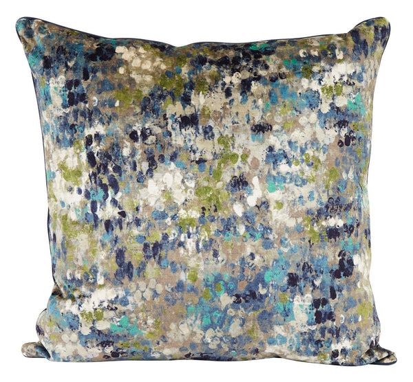 Splatter Turquoise Pillows