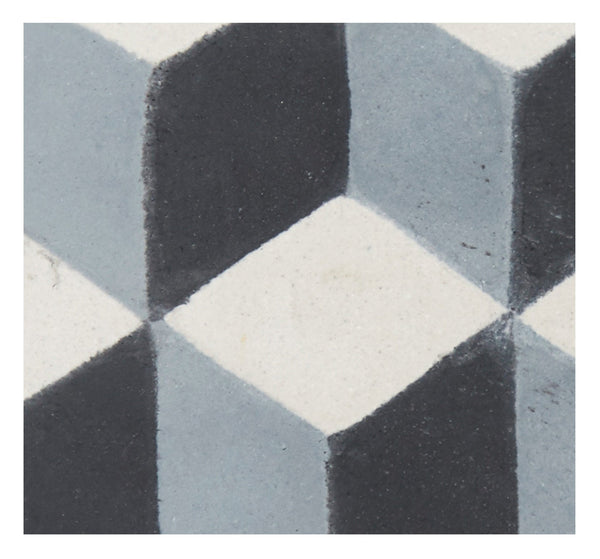 Tumbling Block Tile