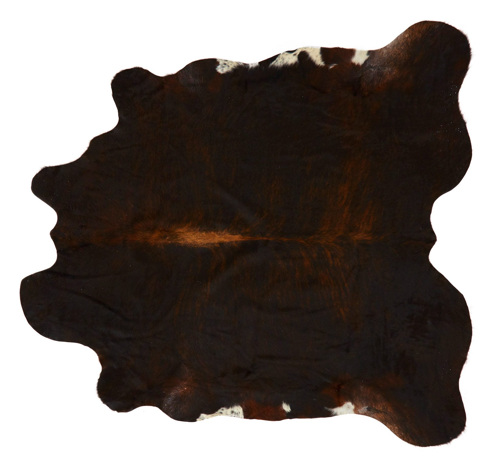 "Natural Cowhide - 6'4"" x 5'2"""