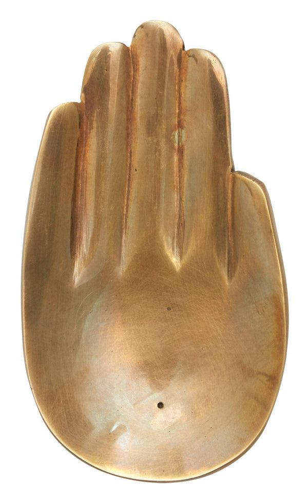 Brass Hand Incense Holder