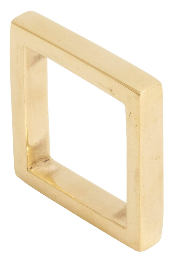 Brass Square Napkin Ring